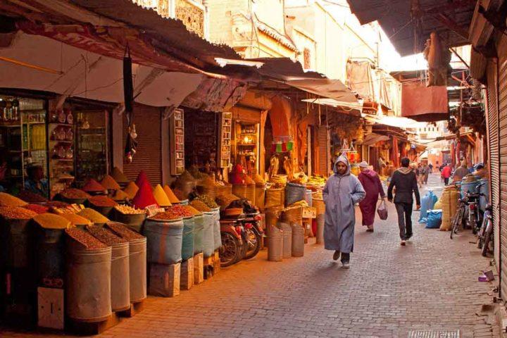 Souq Marrakech Nature Connects