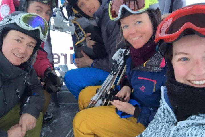 in the ski lift france