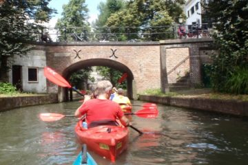 Canoeing in Utrecht