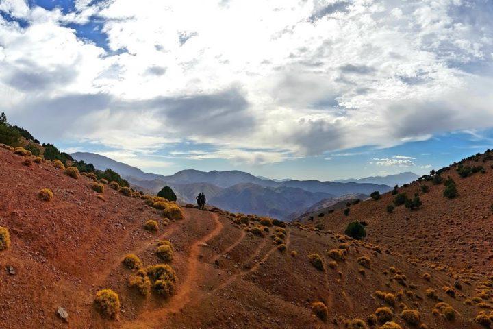 The trail Morocco
