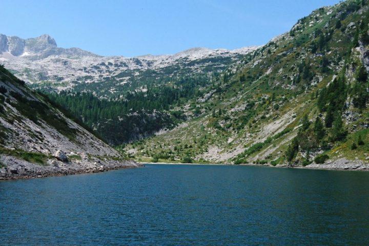 Krn lake Slovenia