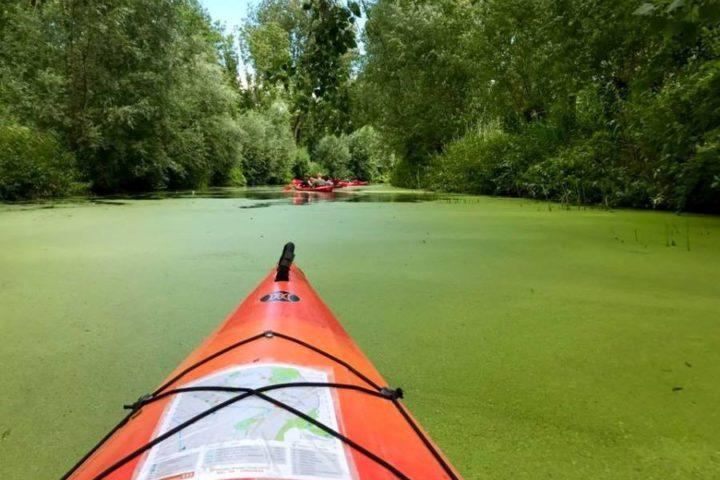 Amelisweerd Utrecht canoeing