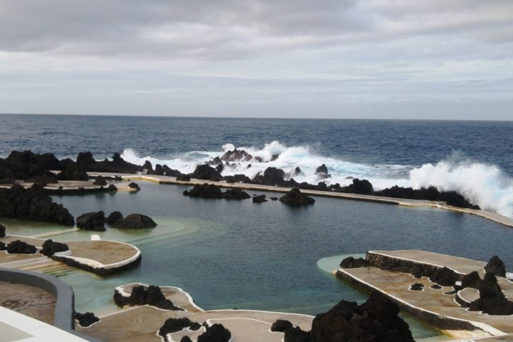 The natural pools in Porto Moniz