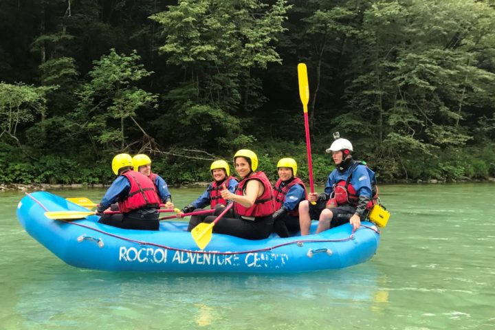 Rafting Soca river
