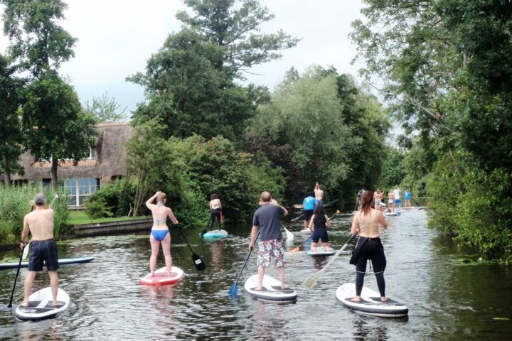 SUP tour Loosdrecht