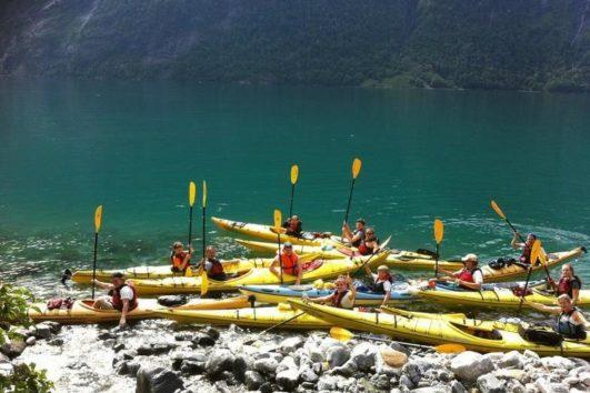 ready to kayak Norway